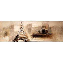 Abstracte Eiffeltoren breedte x hoogte in cm: 150 x 50 (10)