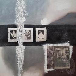 Abstracte kunst breedte x hoogte in cm: 100 x 100 (94)